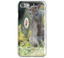 Squirrelisimo book club iPhone Case/Skin