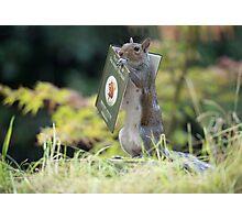 Squirrelisimo book club Photographic Print