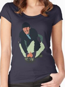 Jack Nicholson - Cuckoos Nest Women's Fitted Scoop T-Shirt