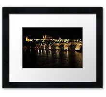 Castle in Prague Framed Print