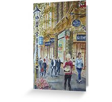 Collins Street Greeting Card