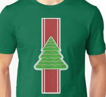 Christmas tree applique background Unisex T-Shirt