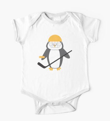 Ice hockey penguin One Piece - Short Sleeve