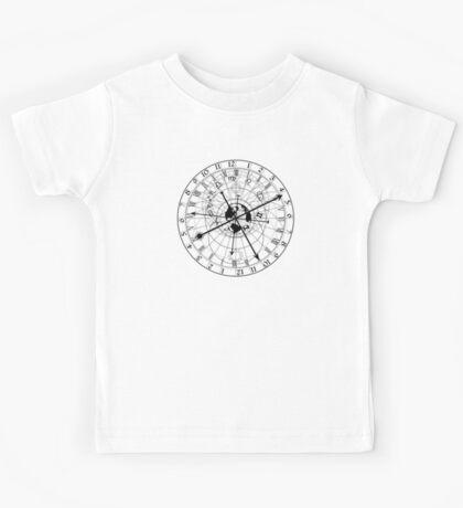 Astronomical clock Kids Tee