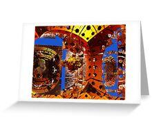☝ ☞ METEORITE HITS EARTH.. DESTRUCTION ☝ ☞ Greeting Card