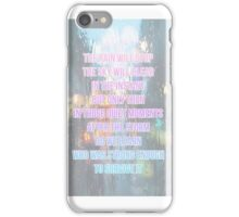 Meredith grey quotes iPhone Case/Skin