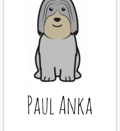 Paul Anka - Gilmore Girls  Sticker