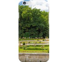 Garden of Diane de Poitiers, Chateau de Chenonceaux, Loire Valley, France iPhone Case/Skin