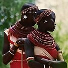 Samburu Girls by Heather Friedman