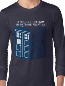 LATIN TARDIS Long Sleeve T-Shirt