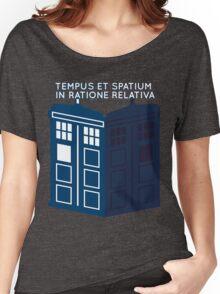 LATIN TARDIS Women's Relaxed Fit T-Shirt
