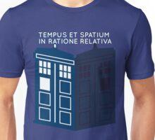 LATIN TARDIS Unisex T-Shirt