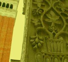The Campanile Bell Tower, Venice Sticker
