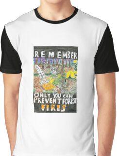 Jason:Prevent forest Fires  Graphic T-Shirt