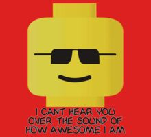 lego heads: can't hear you Kids Clothes