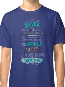 Hillary Clinton Quote - Version 2 Classic T-Shirt