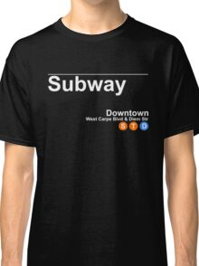 Seize - Subway Sign Classic T-Shirt