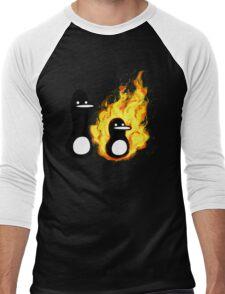 AEiF: Burn Men's Baseball ¾ T-Shirt