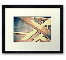 Cubist - City of Arts & Sciences Framed Print