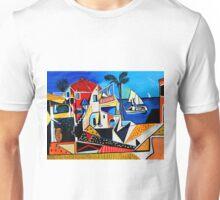 Mediterranean- Tribute to Picasso Unisex T-Shirt