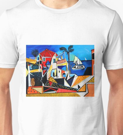Mediterranean- Tribute to Picasso Unisex T-Shirt