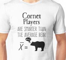 Funny Trumpet T-shirt - Average Bear Unisex T-Shirt