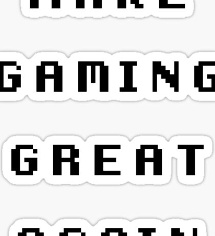 Make Gaming Great Again Sticker