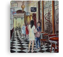 Royal Arcade Canvas Print