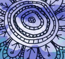 Little Blue Flower  Sticker