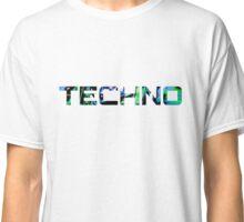 Techno music logo t shirt Classic T-Shirt