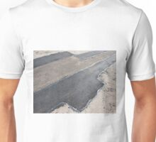 Laying new asphalt patching method Unisex T-Shirt