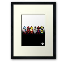 The Super Heroes - Cloud Nine Framed Print