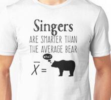 Funny Singer T-shirt - Average Bear Unisex T-Shirt