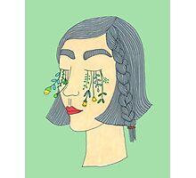 Flower Tears Photographic Print