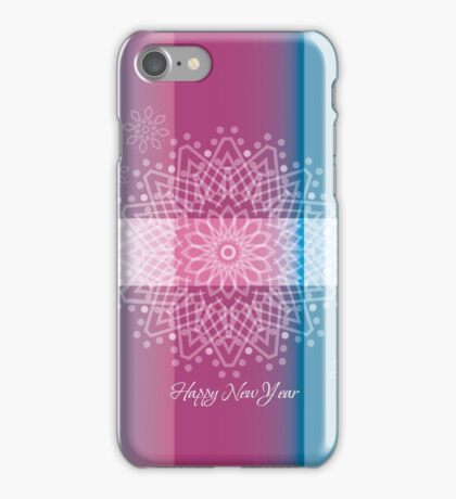 Happy New Year; Merry Christmas iPhone Case/Skin