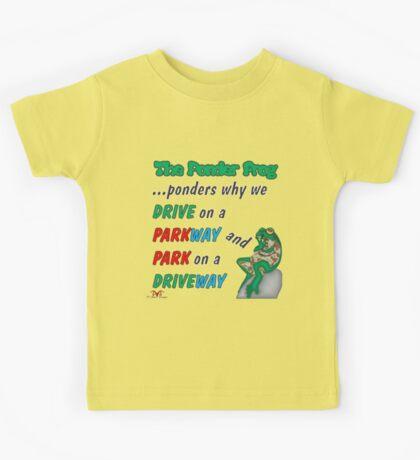 Ponder Frog Park-Drive Kids Tee