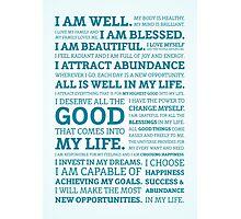 Positive Affirmations (Colour) Photographic Print