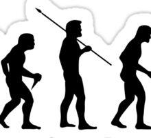 Cycling Evolution Sticker
