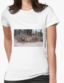 Watchful Dingoes Womens Fitted T-Shirt