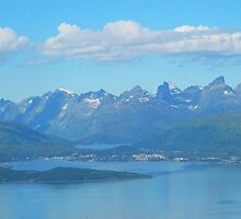 Tromso Mountains, Norway by trish725