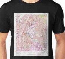 USGS TOPO Map California CA Whittier 301366 1965 24000 geo Unisex T-Shirt