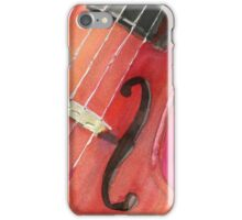 Violin Strings iPhone Case/Skin