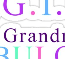 Grandma Products - T.G.I.F. This Grandma is Fabulous Sticker