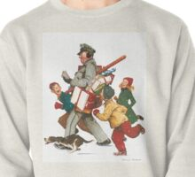 Norman Rockwell Christmas Pullover