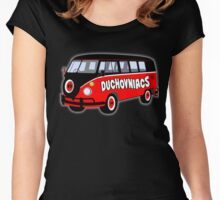 Duchovniacs Bus Women's Fitted Scoop T-Shirt