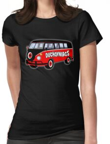 Duchovniacs Bus Womens Fitted T-Shirt