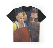 Auron & Tidus Graphic T-Shirt