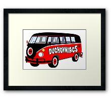 Duchovniacs Bus Framed Print