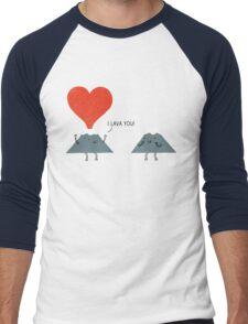 I Lava You Men's Baseball ¾ T-Shirt