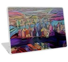 Abstract New York City Laptop Skin